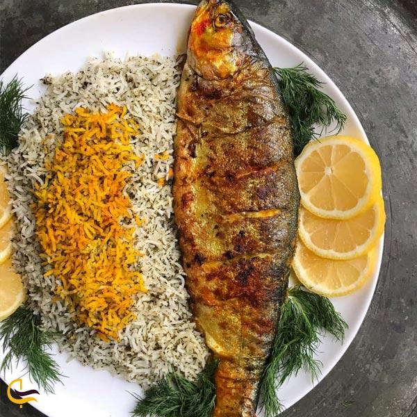 تصویری از غذاهای محلی رضوانشهر