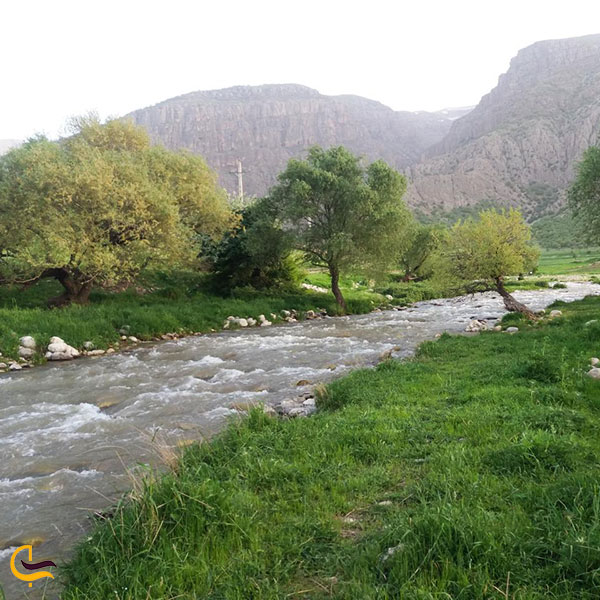 عکس رودخانه دره