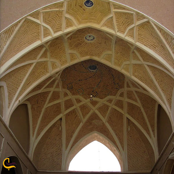عکس سقف مسجد جامع نوش آباد