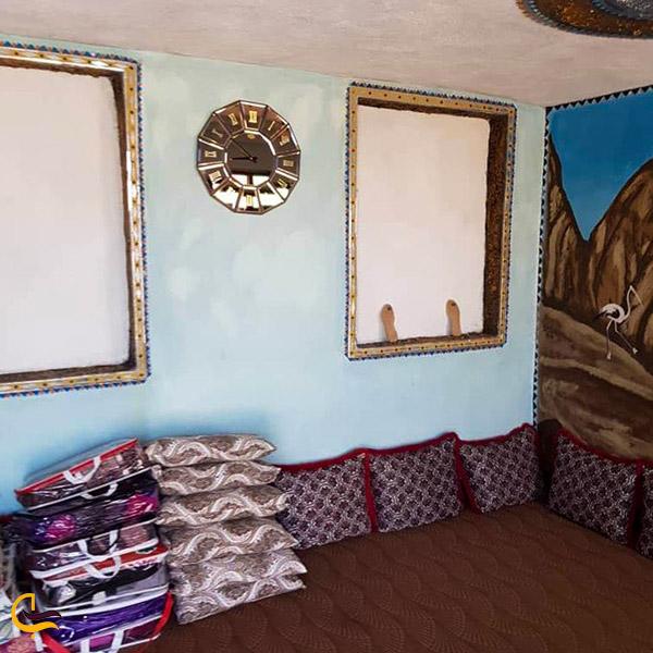 عکس اتاق های بخش جنوبی اقامتگاه نخل ناخدا