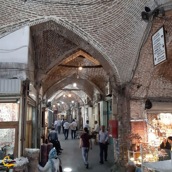 تصویری از راسته بازار صادقیه تبریز