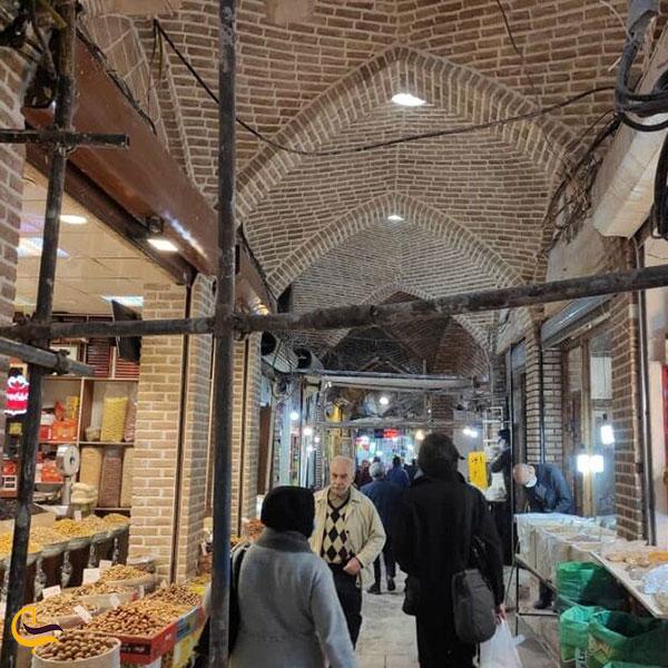تصویری از بازار صفی بازار تبریز