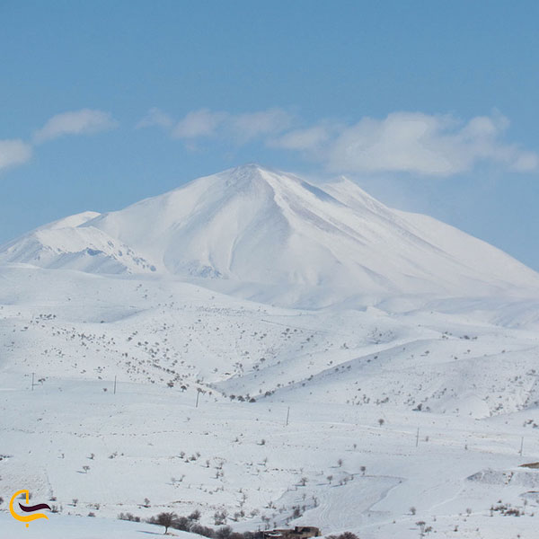عکس قله سهند