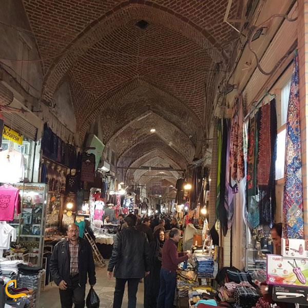 تصویری از سرای خان بازار تبریز