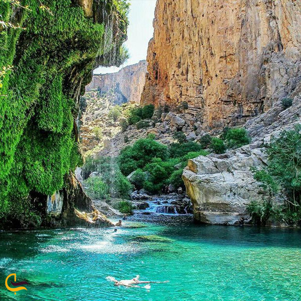 عکس آبشار تنگ براق