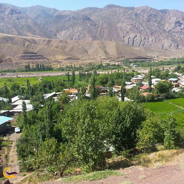 تصویری از روستای شیرکوه