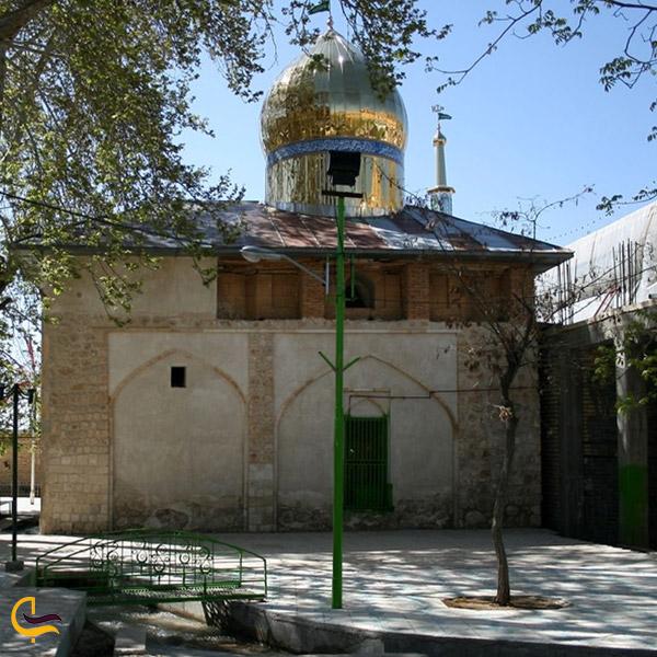 تصویری از مرقد امامزاده سید نورالدین سپیدان