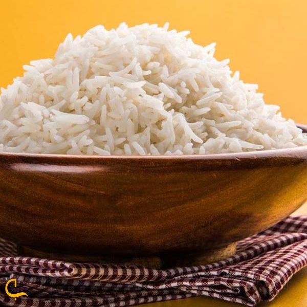 تصویری از برنج سوغات سیاهکل