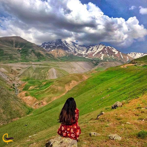 عکس طبیعت زیبا شیروان دره