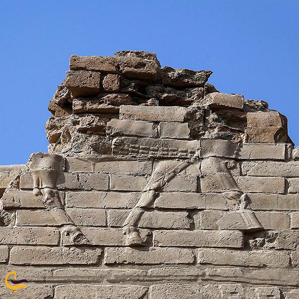 عکس سنگبنای بابل قدیم