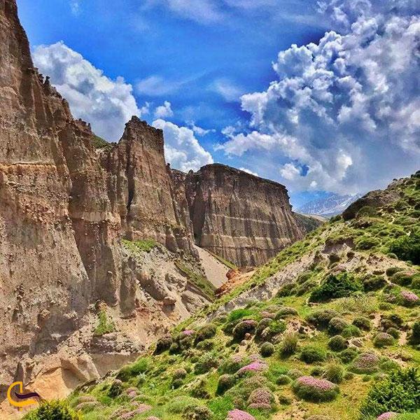 عکس طبیعت سحرآمیز شیروان دره