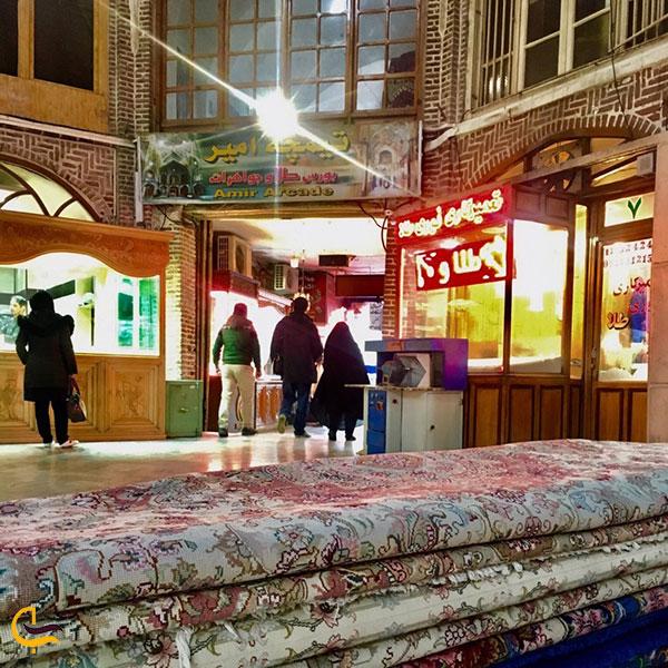 تصویری از تیمچه امیر بازار تبریز