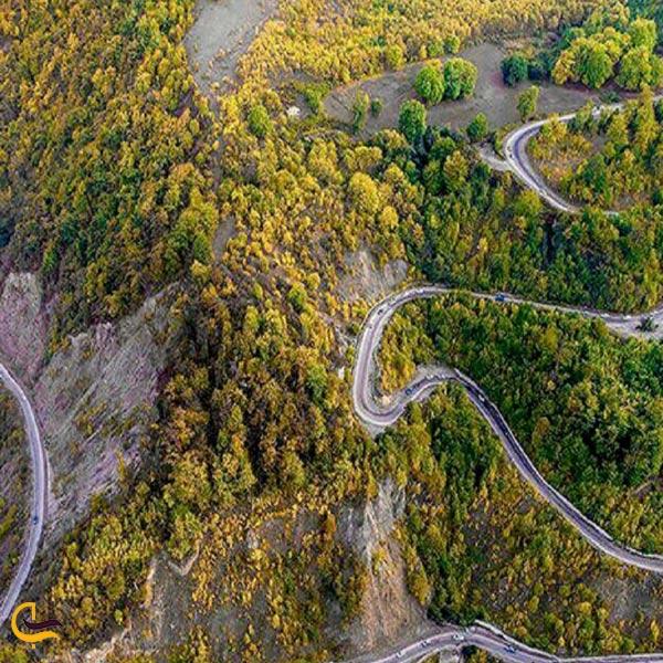 تصویری از جاده توسکستان
