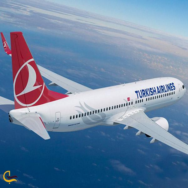 عکس خطوط هواپیمایی ترکیش ایرلاین