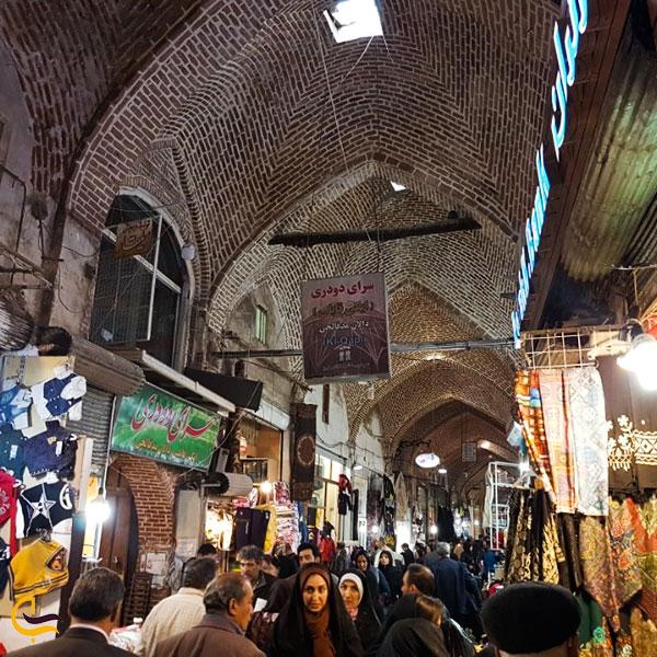 تصویری از سرای دودری بازار تبریز