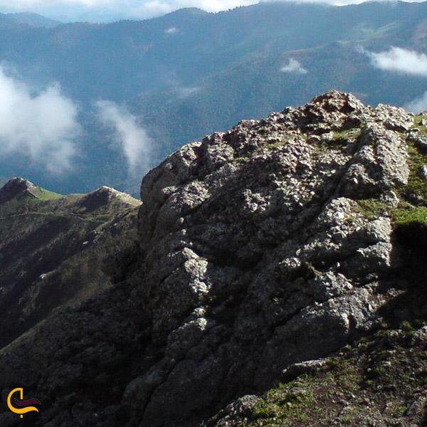 عکس قله گرداب