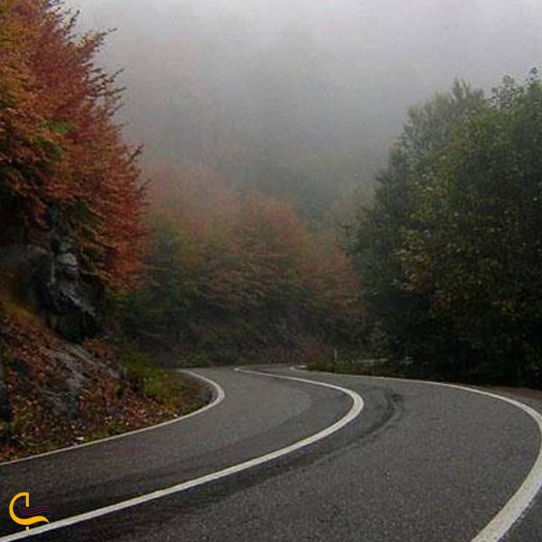 تصویری از جاده اسالم به خلخال