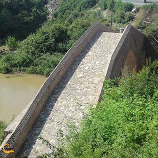 تصویری از پل خشتی شفارود
