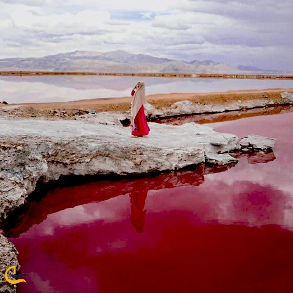 تصویری از دریاچه مهارلو