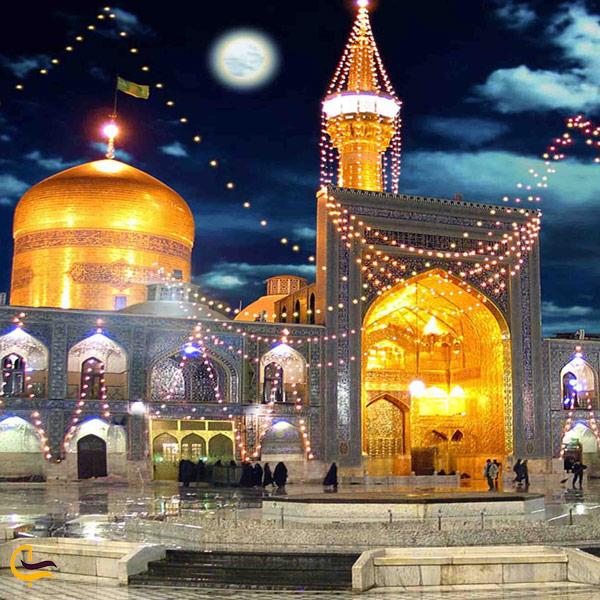 تصویری از حرم امام رضا مشهد