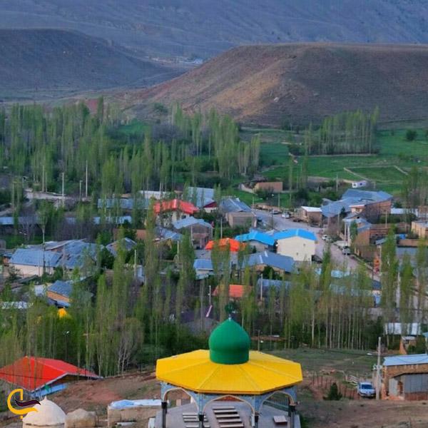 تصویری از طبیعت روستای چاشم