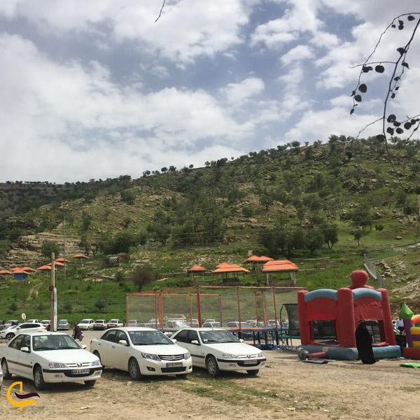تصویری از امکانات پارک چشمه بلقیس