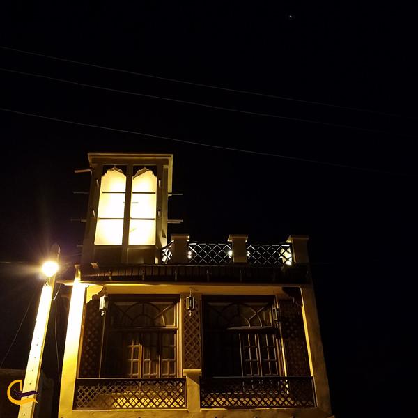 تصویری از سبک خانه های روستای لافت