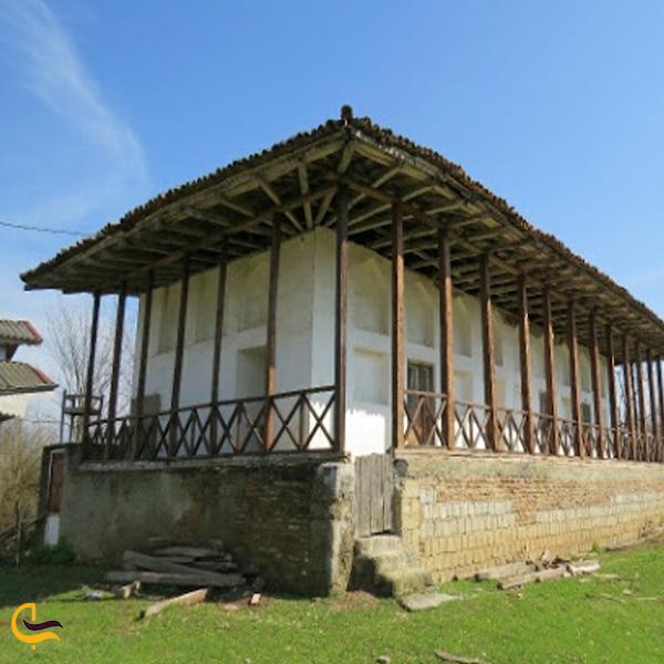 تصویری از خانه روستایی در روستای کمسار