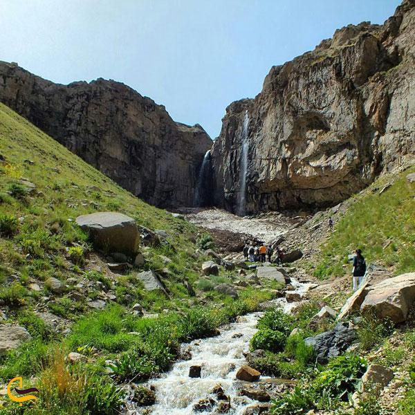 تصویری از آبشار انگمار