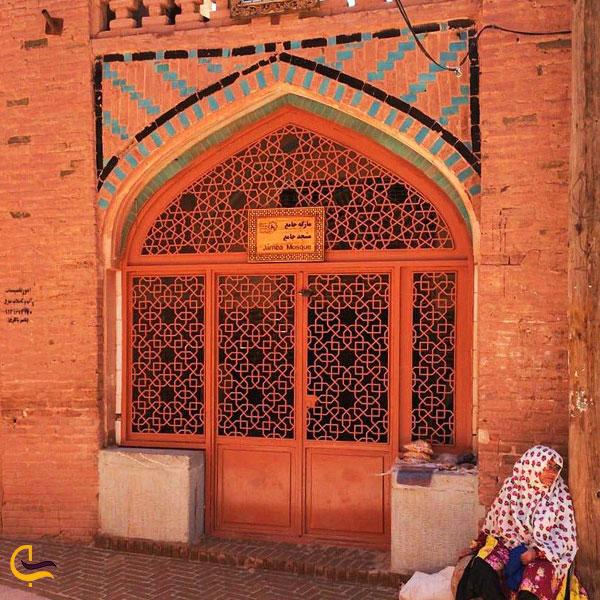 تصویری از مسجد جامع ابیانه