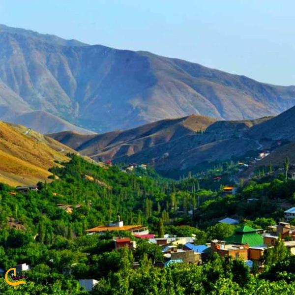 تصویری از روستای افجه