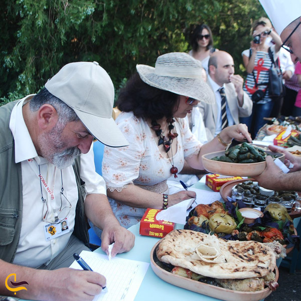 تصویری از فستیوال دلمه در ارمنستان