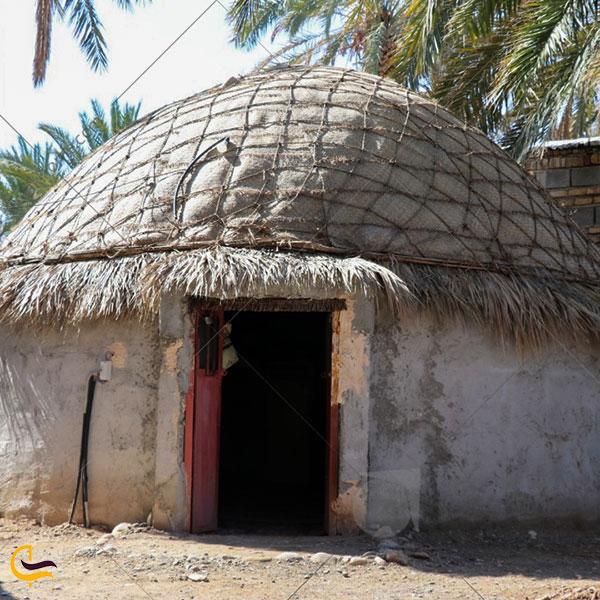 عکس اقامتگاه سنتی خاله زبیده ایرانشهر