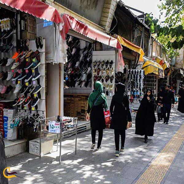عکس بازار کیف و کفش خیابان سپه اصفهان