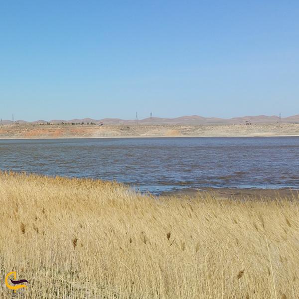 تصویری از دریاچه بزنگان