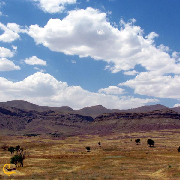 تصویری از طبیعت روستای بیجگان
