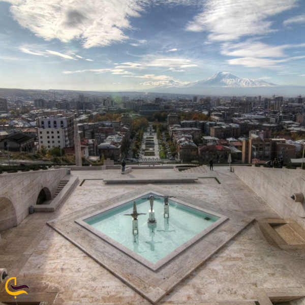 تصویری از موزه هنرهای معاصر کافسجیان