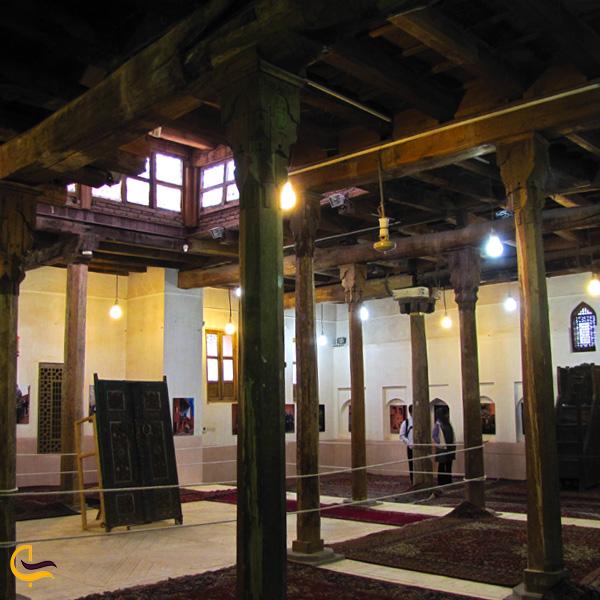 نمایی از مسجد جامع ابیانه