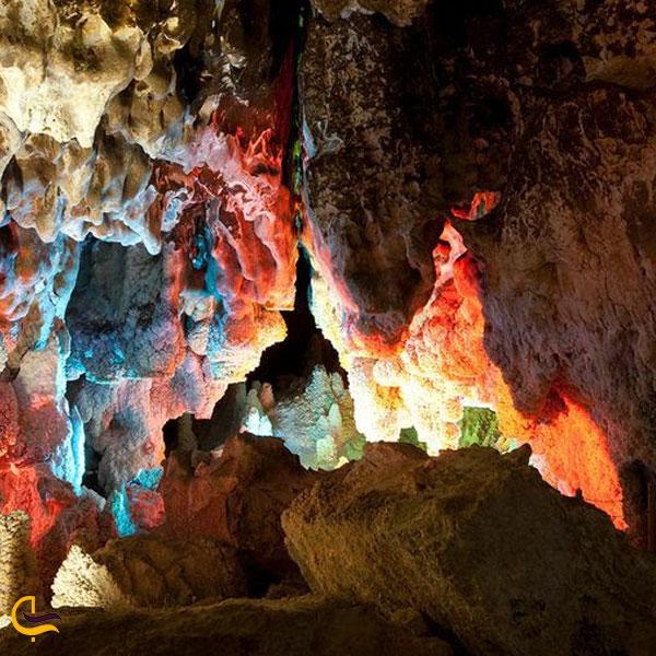 تصویری از غار نخچیر چال دهستان جاسب