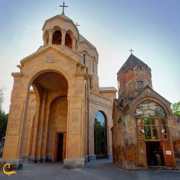 تصویری از کلیسای سنت آستواتساتین نورک