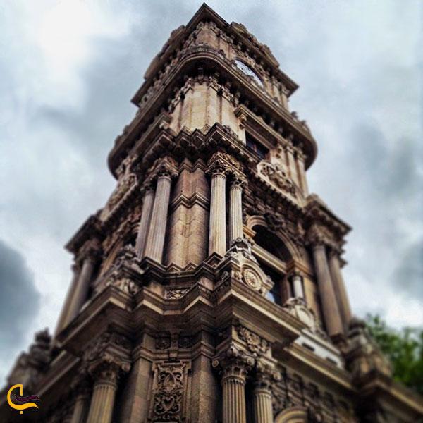 عکس برج ساعت کاخ دلمه باغچه