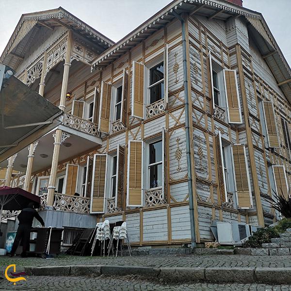 عکس ساخت عمارت در پارک امیرگان استانبول