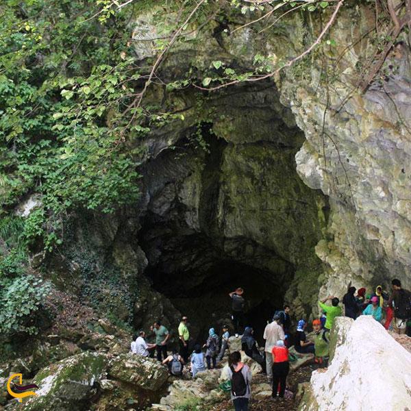 عکس غار درفک