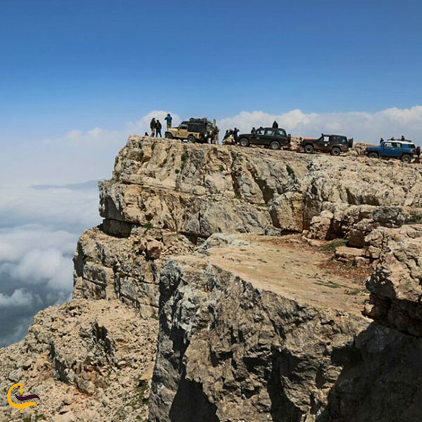 عکس قله درفک