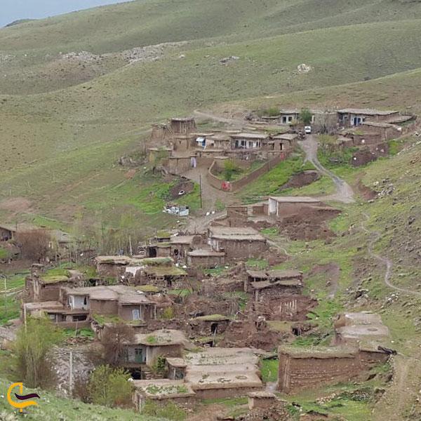 تصویری از مسیر روستایی دهبوره راه