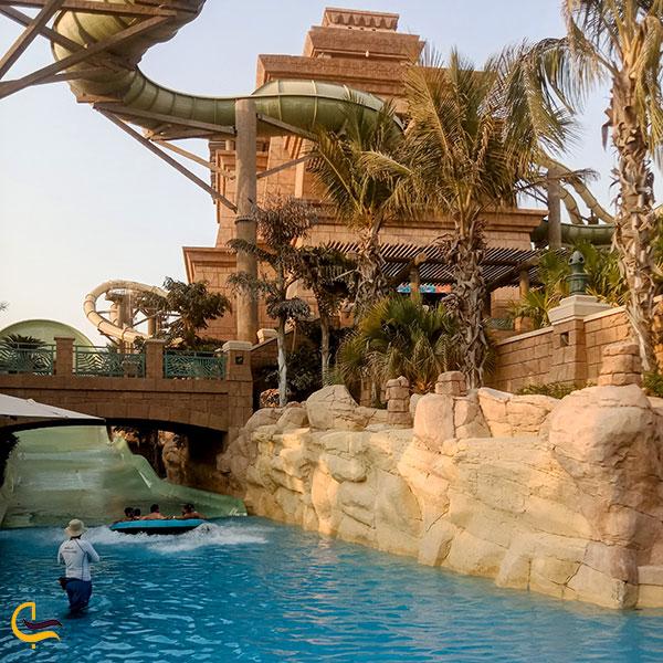 عکس امکانات آبی مجمع الجزایر نخلی دبی
