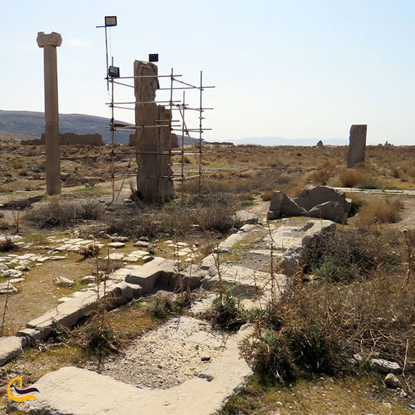 تصویری از شهر باستانی استخر