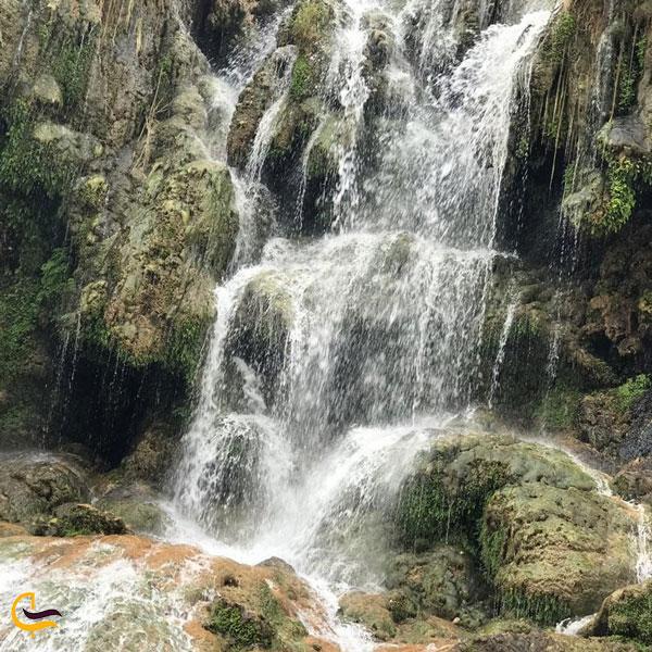 تصویری از آبشار فدامی شیراز