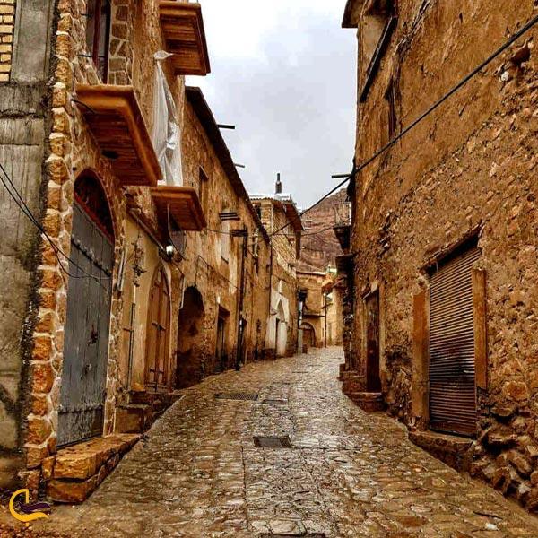 تصویری از روستای قلات