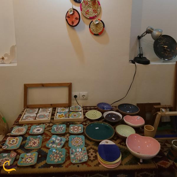 تصویری از صنایع دستی خانه ماپار